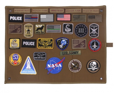 Roll-Up Morale Patch Board