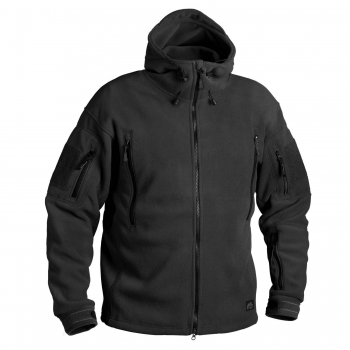 HELIKON TEX PATRIOT HEAVY FLEECE JACKE SCHWARZ