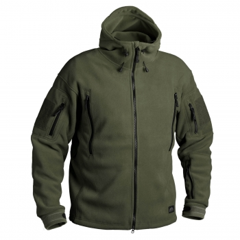 HELIKON-TEX PATRIOT HEAVY FLEECE JACKE OLIV