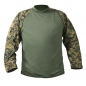 Mobile Preview: MARINES WOODLAND DIGITAL CAMO TACTICAL COMBAT SHIRT