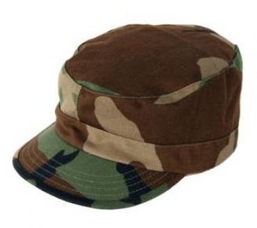 USGI Military Army PATROL COMBAT BDU HAT CAP Large 7-1//2 Woodland Camo Propper