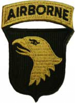"101st Airborne Division ""SCREAMING EAGLE"" MultiCam OCP Patch"