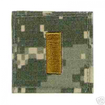2ND LIEUTENANT ACU Velcro Rank