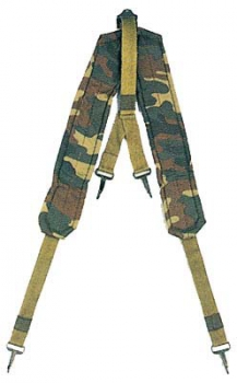 "US ARMY ALICE STYLE ""Y"" LC-1 SUSPENDERS CAMOUFLAGE"