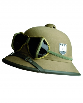 WEHRMACHT WH TROPENHELM MIT BRILLE AFRIKA CORPS (REPRO)
