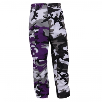 BDU Two-Tone Pants Ultra Violet Purple / City camouflage