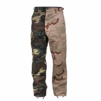 BDU Two-Tone Pants woodland / Desert camouflage