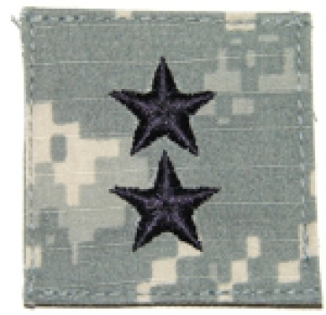 Major General ACU Velcro Abzeichen