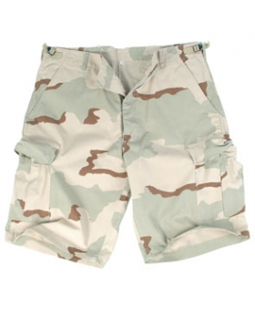 US 3 color desert tan BERMUDA PREWASH shorts