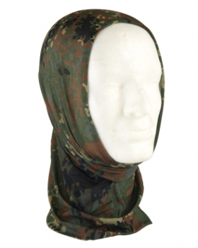 MULTI HEADGEAR WRAP 6 Way Face Protector flecktarn