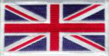Union Jack United Kingdom ID patch full color