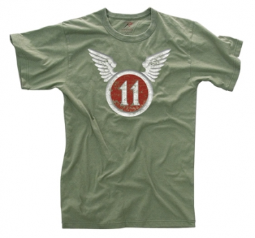 11th AIRBORNE VINTAGE MILITARY SHIRT