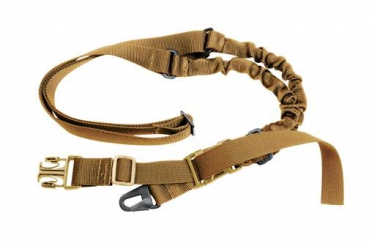COYOTE BROWN MILITARY SINGLE POINT SLING