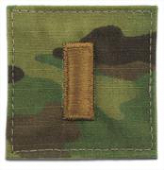 2nd Lieutenant OCP Multicam Rank with Velcro