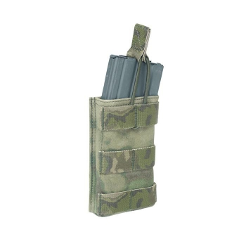 A-TACS FG Warrior Assault System Single 5.56mm Open Mag Pouch