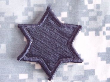 "6th Infantry Division ""SIGHT-SEEING SIXTH"" ACU Velcro patch Abzeichen"