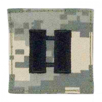 CAPTAIN US ARMY ACU RANK Velcro Digital Uniform Abzeichen
