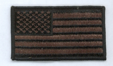 US ARMY Flagge forward VELCRO PATCH OD green