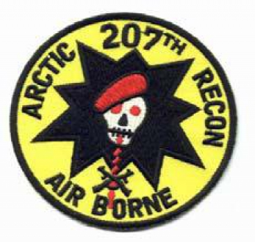 207th Airborne Arctic Recon Special Forces patch