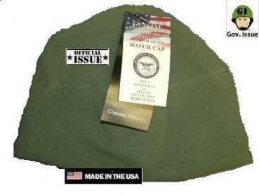 US Army POLARTEC ACU watch cap FLEECE Mütze Foliage green