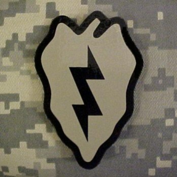 25th Division ACU IR INFRA RED REFLECTIVE