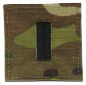 1st Lieutenant OCP Multicam Rank with Velcro