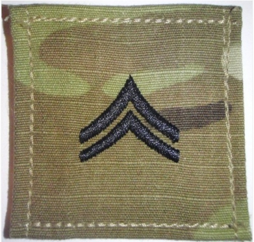 CORPORAL OCP Multicam Rank with Velcro