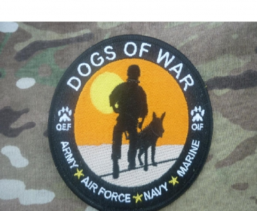ARMED FORCES DOGS OF WAR OEF OIF