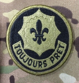 2nd AC Armored Cavalry TOUJOURS PRET Multicam
