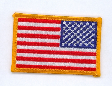 US Army Reversed American Flag patch