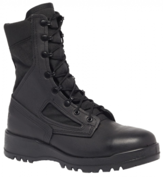 BELLEVILLE 300 TROP ST Hot Weather Steel Toe Boot Black