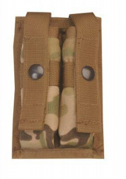 DOUBLE 9 MM MOLLE MAG POUCH MULTICAM