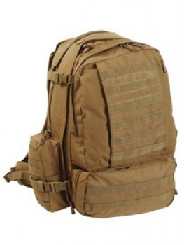 3 DAY USMC PATROL MOLLE ASSAULT RUCKSACK Coyote tan