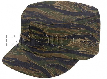 US Army PROPPER BDU Cap OD Asian Tigerstripe