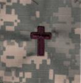 CHAPLAIN ACU Insignia without Velcro
