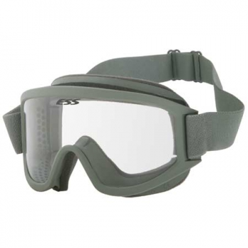 ESS Striker Series Land Ops Schutzbrille foliage green Goggle mit ACU cover