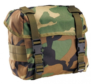 US Army Butt Pack woodland camouflage