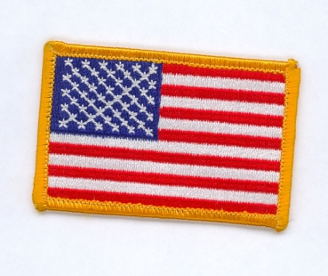US Military American Flag Uniform patch