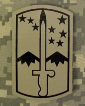 172nd Stryker Brigade INFRARED ACU Velcro patch