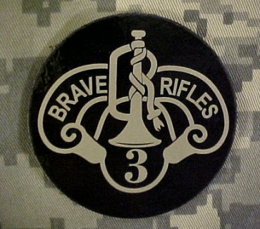 3rd ACR Armored Cavalry Regiment IR ACU patch