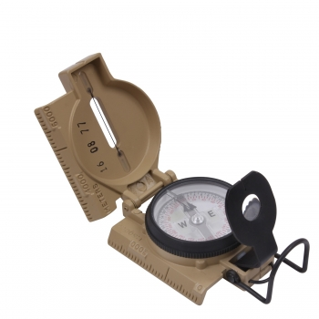 US Army Cammenga Phosphorescent Lensatic Compass Coyote