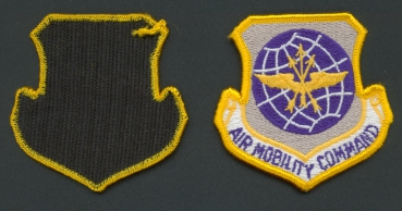 US AirForce USAF AIR MOBILITY COMMAND VELCRO Uniform Abzeichen