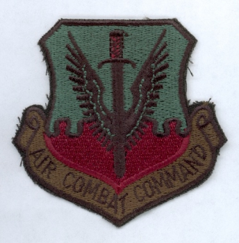 USAF US Air Force  Combat Command patch Abzeichen