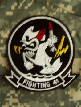 Fighting 41 Fighter Squadron US Navy Patch