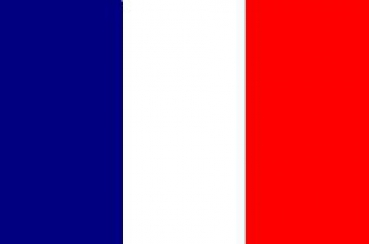 FRENCH FLAGS INFRARED FULL COLOR Velcro patch