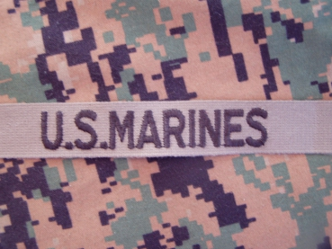 U.S. MARINES USMC Uniform tab