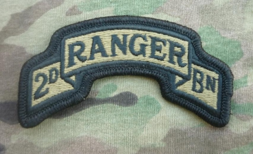 2nd RANGER MultiCam OCP Scroll Patch
