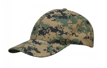 PROPPER 6 Panel Baseball Cap Woodland Digital