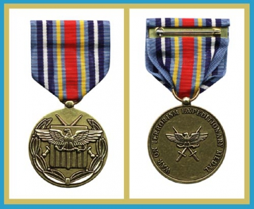 US Army War On Terrorism Expeditionary Medal Orden