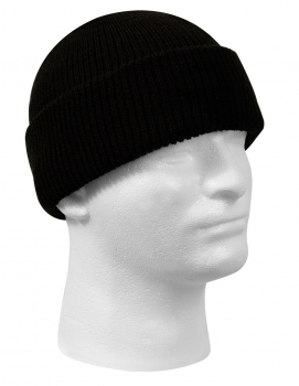 US Army G.I. Wool Watch Cap Black